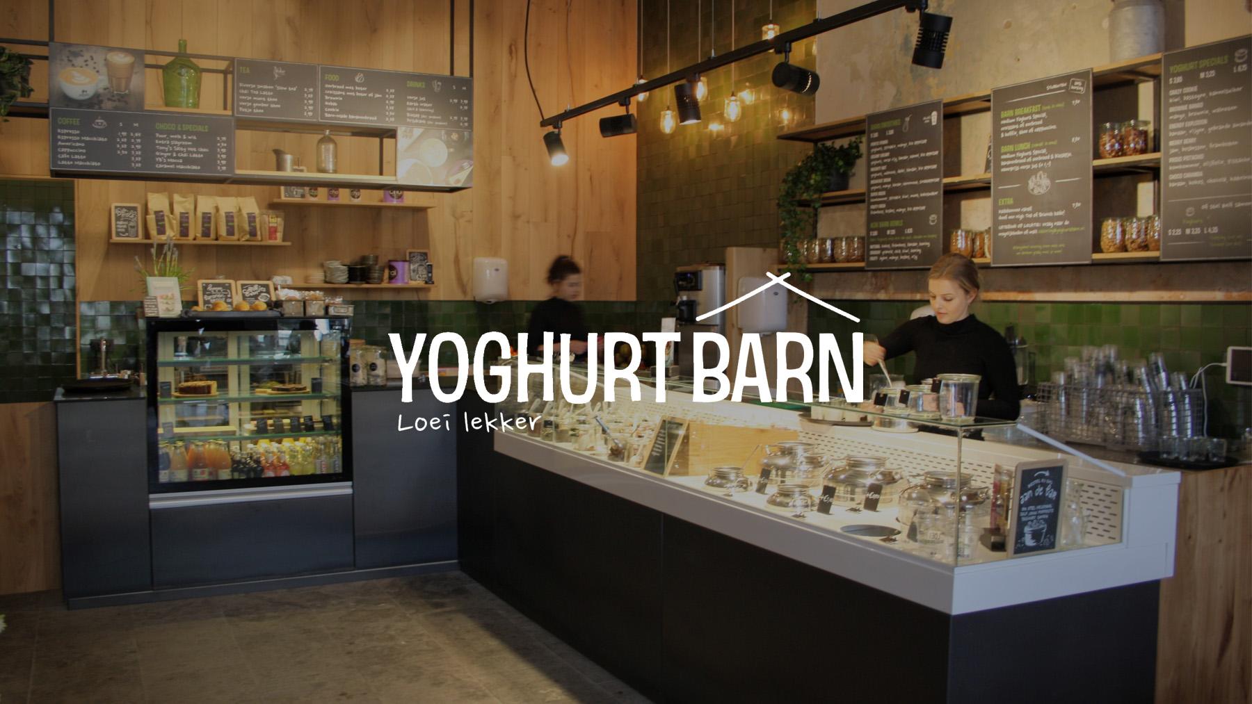 achtergrond muziek yoghurt barn banner
