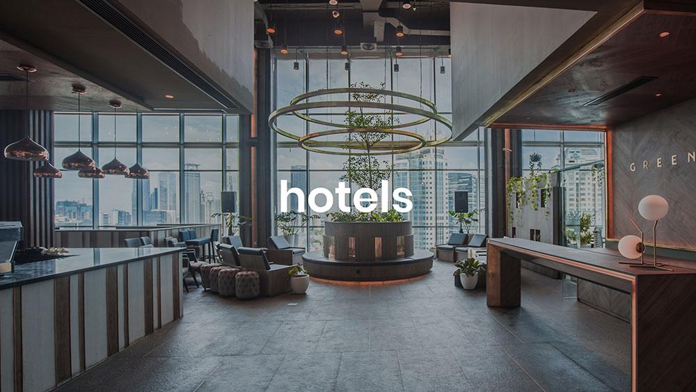 hotel instore muziek achtergrond muziek spotify zakelijk soundtrack